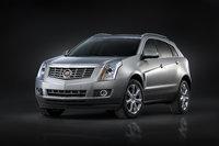 2014 Cadillac SRX, Front-quarter view. Copyright General Motors, exterior, manufacturer