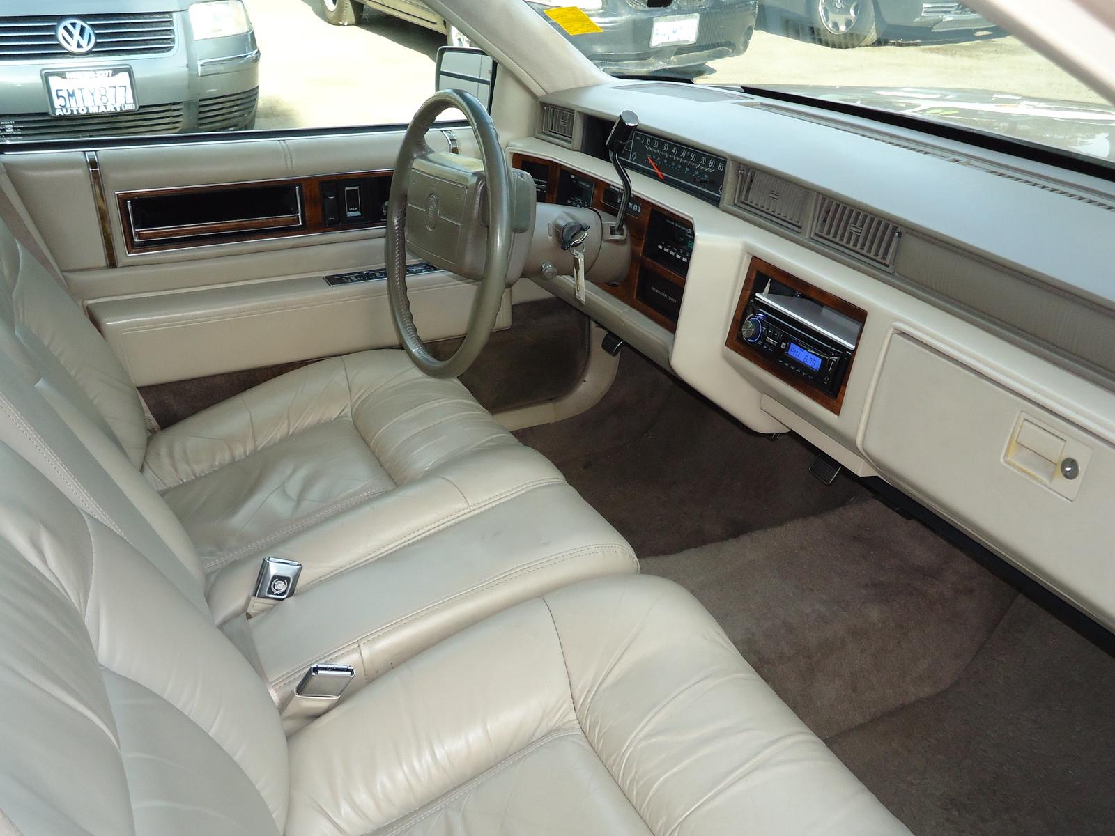 1993 Cadillac Deville Interior Pictures Cargurus