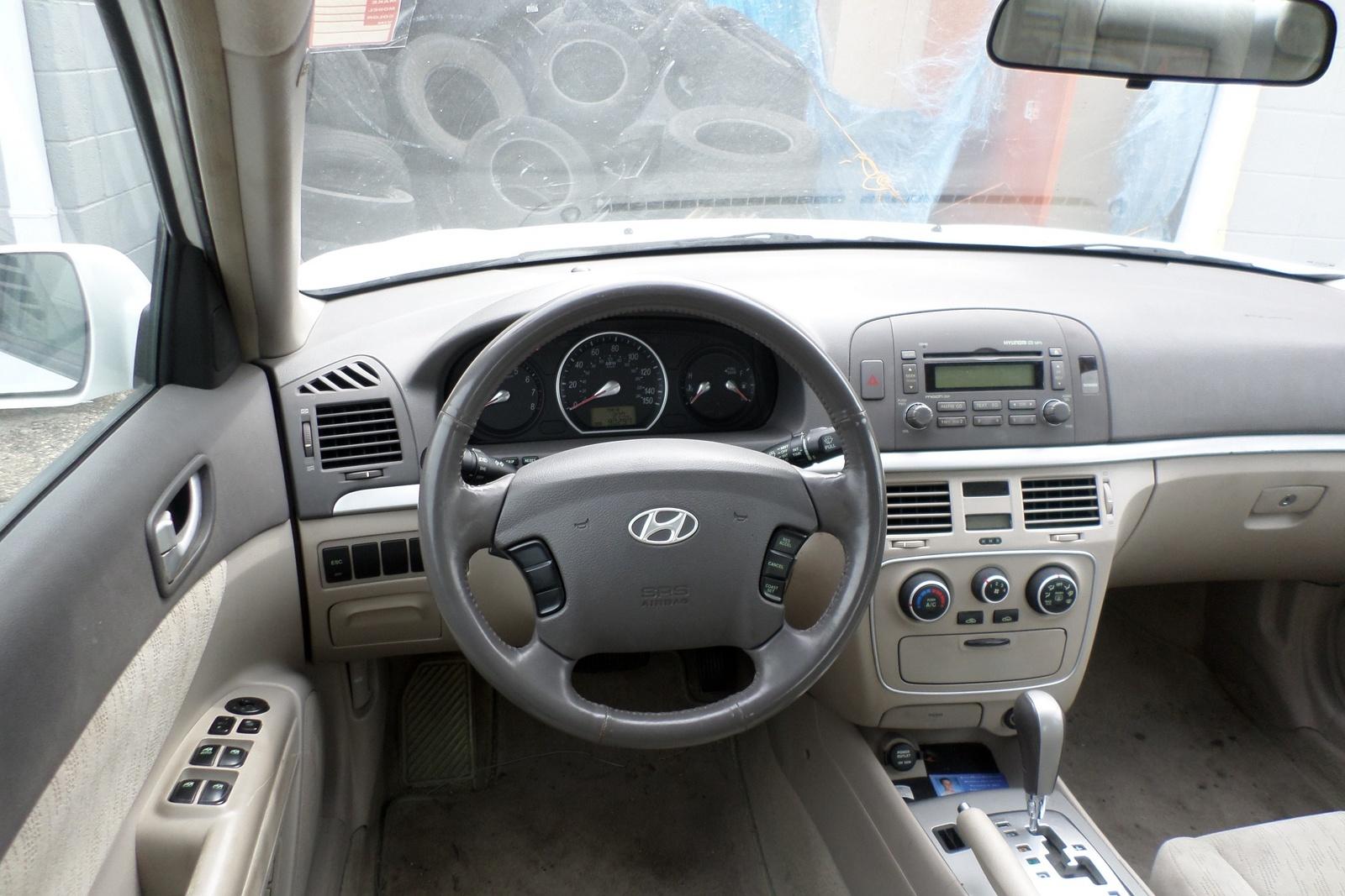 2006 Hyundai Sonata Interior Pictures Cargurus