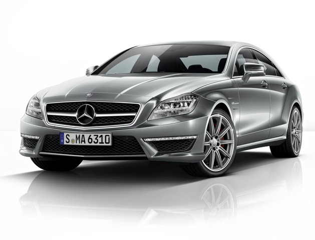 2014 Mercedes-Benz CLS-Class, Front-quarter view, exterior, manufacturer, gallery_worthy