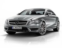 2014 Mercedes-Benz CLS-Class, Front-quarter view, manufacturer, exterior
