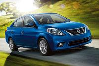 2014 Nissan Versa, Front-quarter view, exterior, manufacturer