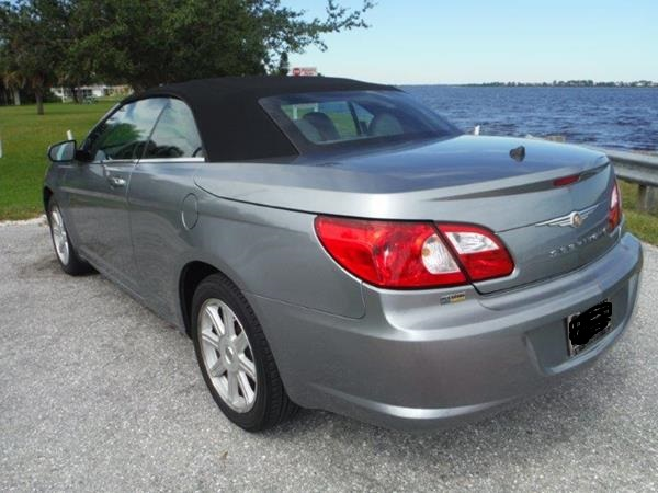 picture of 2008 chrysler sebring touring convertible exterior. Cars Review. Best American Auto & Cars Review