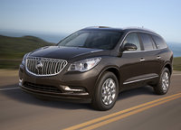 2014 Buick Enclave, Front-quarter view. Copyright General Motors, manufacturer, exterior