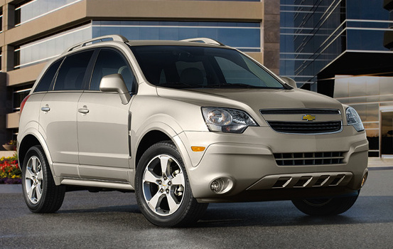2014 Chevrolet Captiva Sport, Front-quarter view. Copyright General Motors, exterior, manufacturer, gallery_worthy