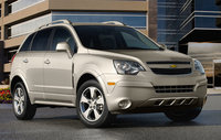 2014 Chevrolet Captiva Sport, Front-quarter view. Copyright General Motors, manufacturer, exterior