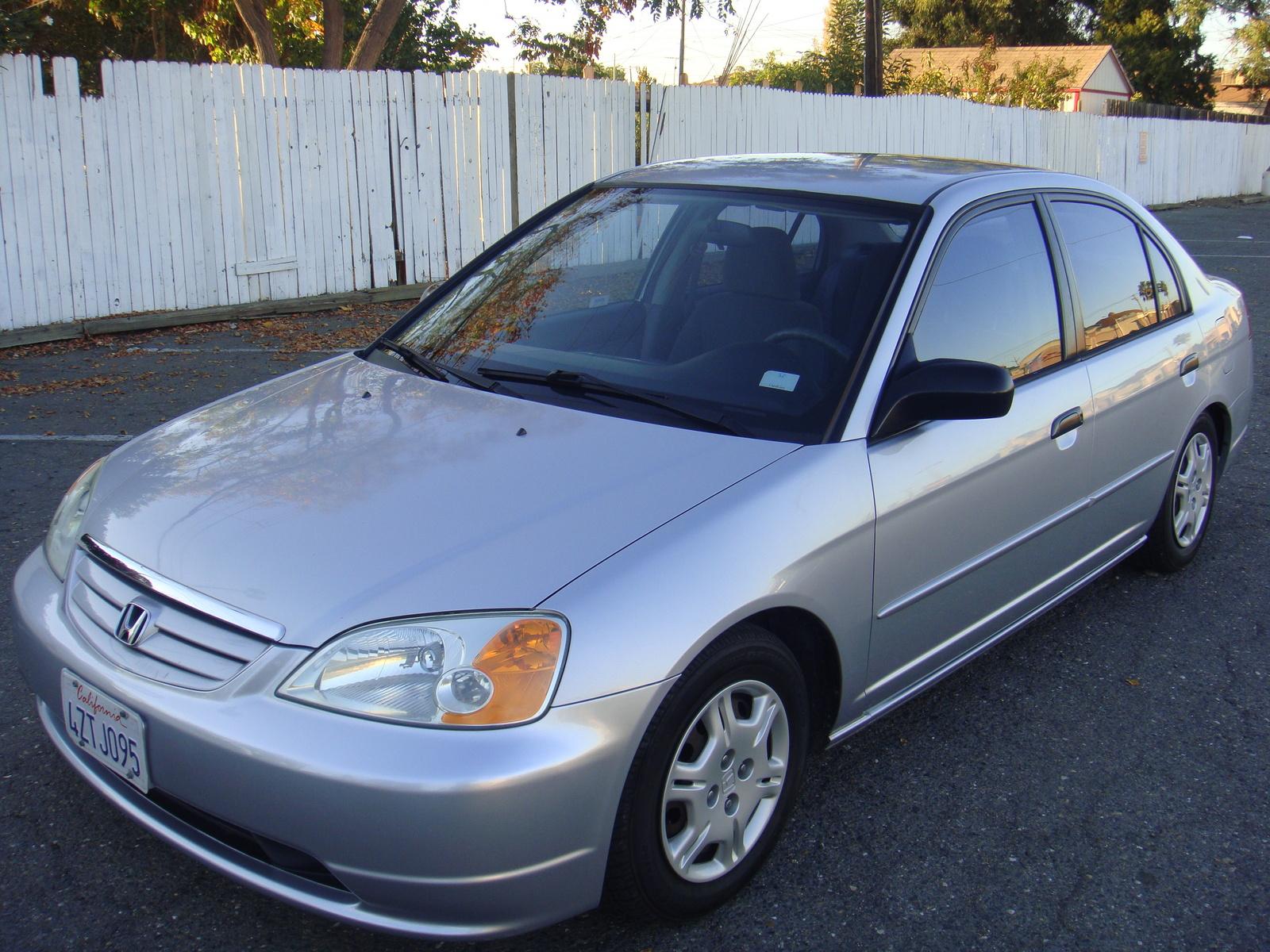 2001 Honda civic lx dimensions