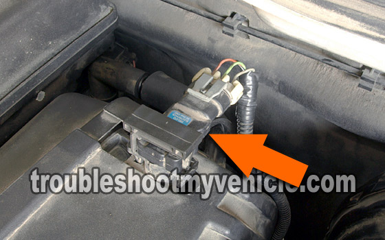 Isuzu Rodeo Questions where is the map sensor located in