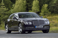 2014 Bentley Continental Flying Spur, Front-quarter view, manufacturer, exterior