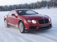 2014 Bentley Continental GT, Front-quarter view, exterior, manufacturer