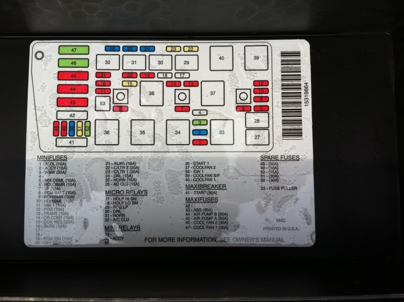 pic 4856390851301096898 1600x1200 cadillac seville questions what fuse control my dashboard lights 2013 Cadillac CTS Fuse Box Location at gsmx.co