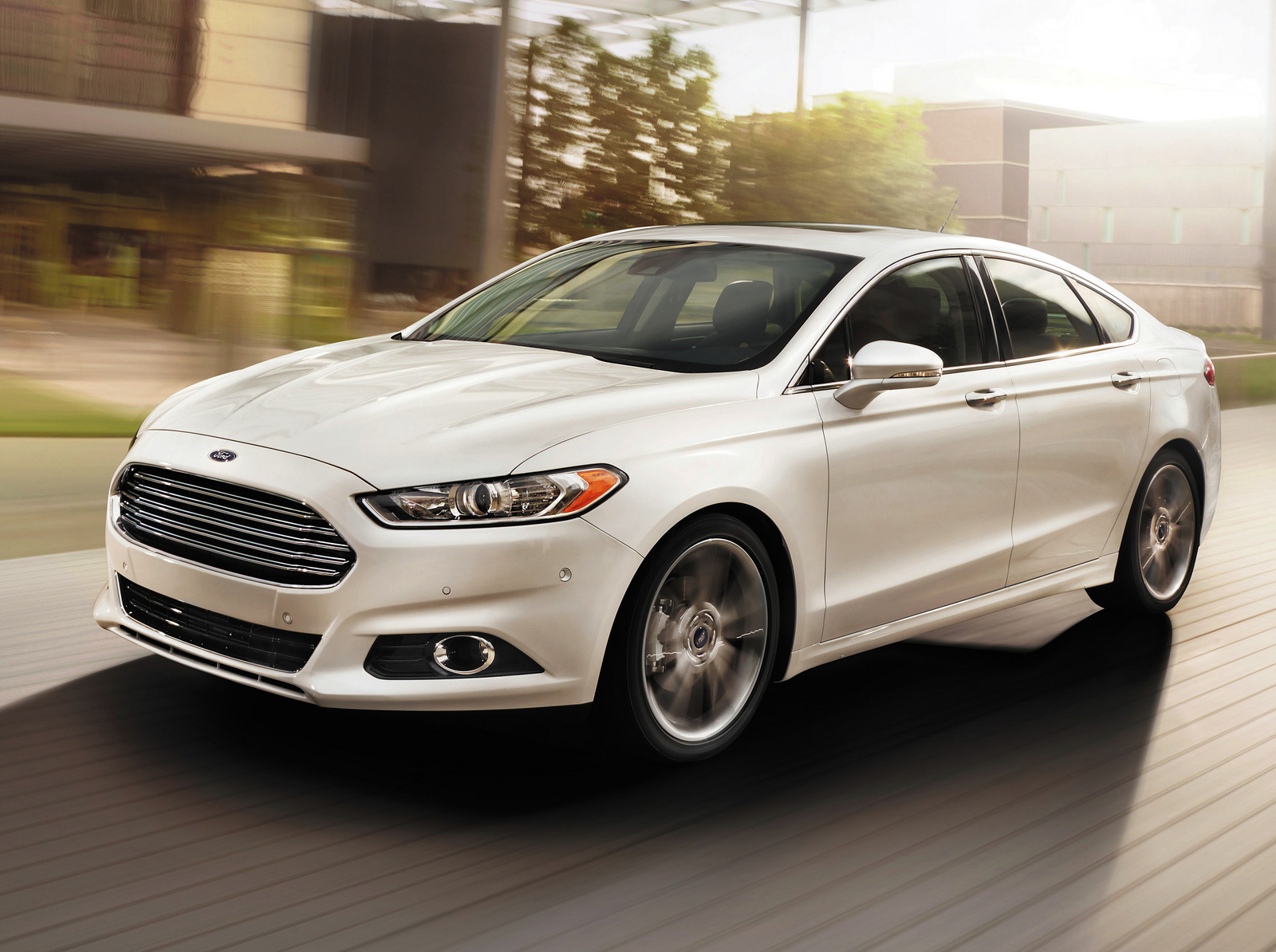 2014 Ford Fusion Test Drive Review