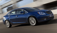 2014 Buick Verano, Front-quarter view. Copyright General Motors, manufacturer, exterior