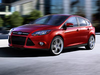 2014 Ford Focus, Front-quarter view, exterior, manufacturer
