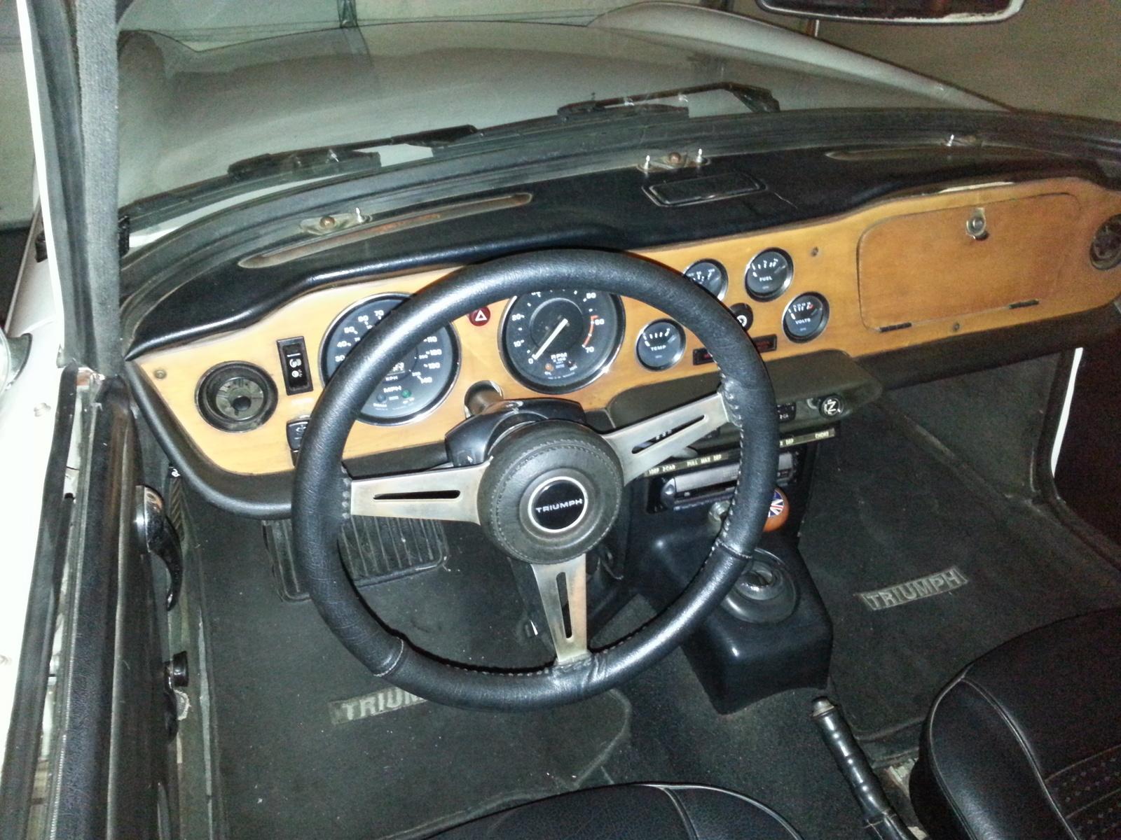 1974 Triumph Tr6 Pictures Cargurus