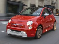 2014 FIAT 500e, Front-quarter view, exterior, manufacturer, gallery_worthy