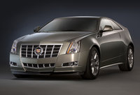 2014 Cadillac CTS Coupe, Front-quarter view. Copyright General Motors, manufacturer, exterior