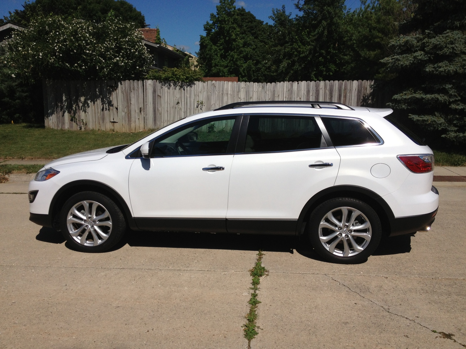 picture of 2011 mazda cx 9 grand touring exterior. Black Bedroom Furniture Sets. Home Design Ideas