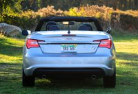 Rear shot of the 2013 Chrysler 200S Convertible, exterior
