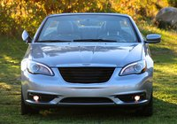 Head-on shot of the 2013 Chrysler 200S Convertible, exterior
