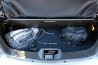 Trunk shot of the 2013 Chrysler 200S Convertible, interior