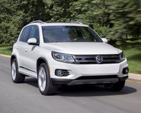 2014 Volkswagen Tiguan, Front-quarter view, exterior, manufacturer