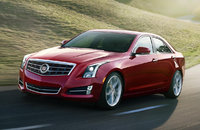 2014 Cadillac ATS, Front-quarter view. Copyright General Motors, exterior, manufacturer, gallery_worthy