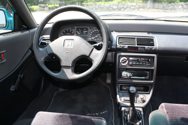 civic honda 1991 hatchback interior cargurus si cars