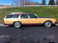 1987 Pontiac Bonneville, !987 Pontiac - just 25,000 Miles Dad bought it new., exterior