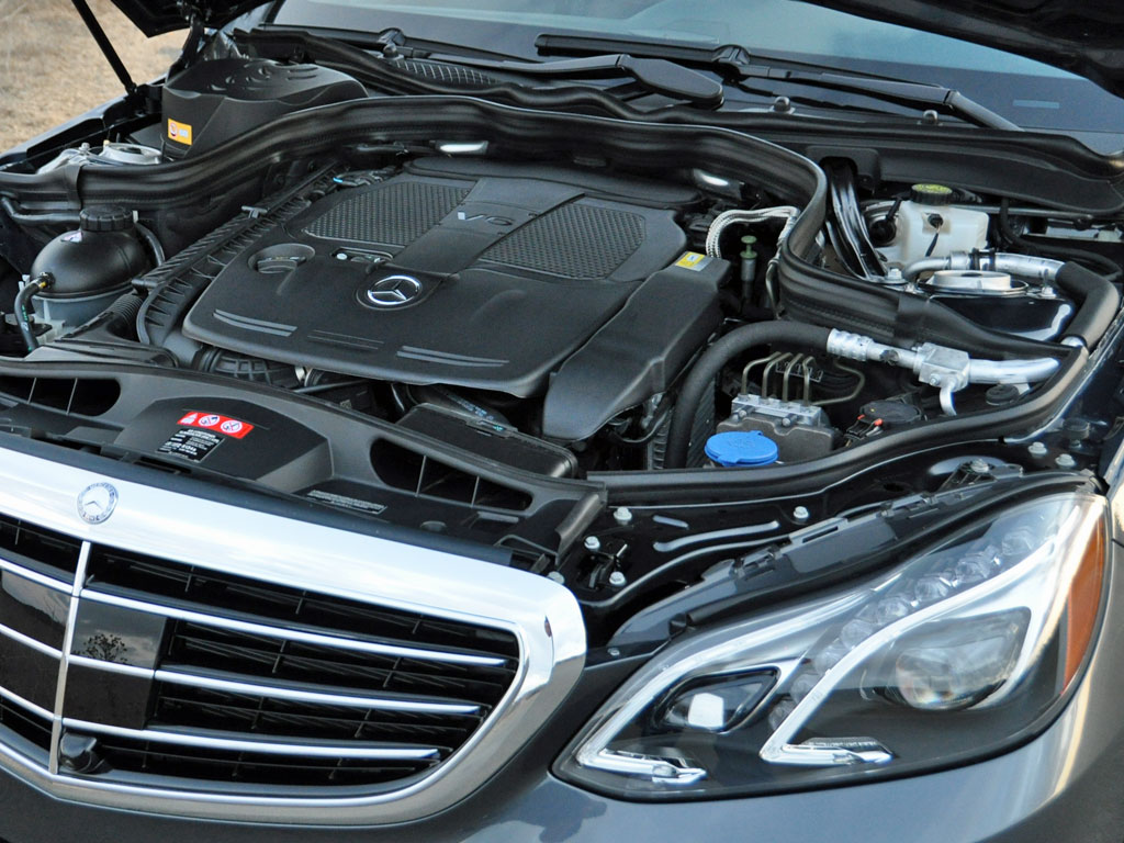 2014 Mercedes-Benz E-Class E350 Luxury 4MATIC, 2014 Mercedes-Benz E350 3.5-liter V6 engine, engine