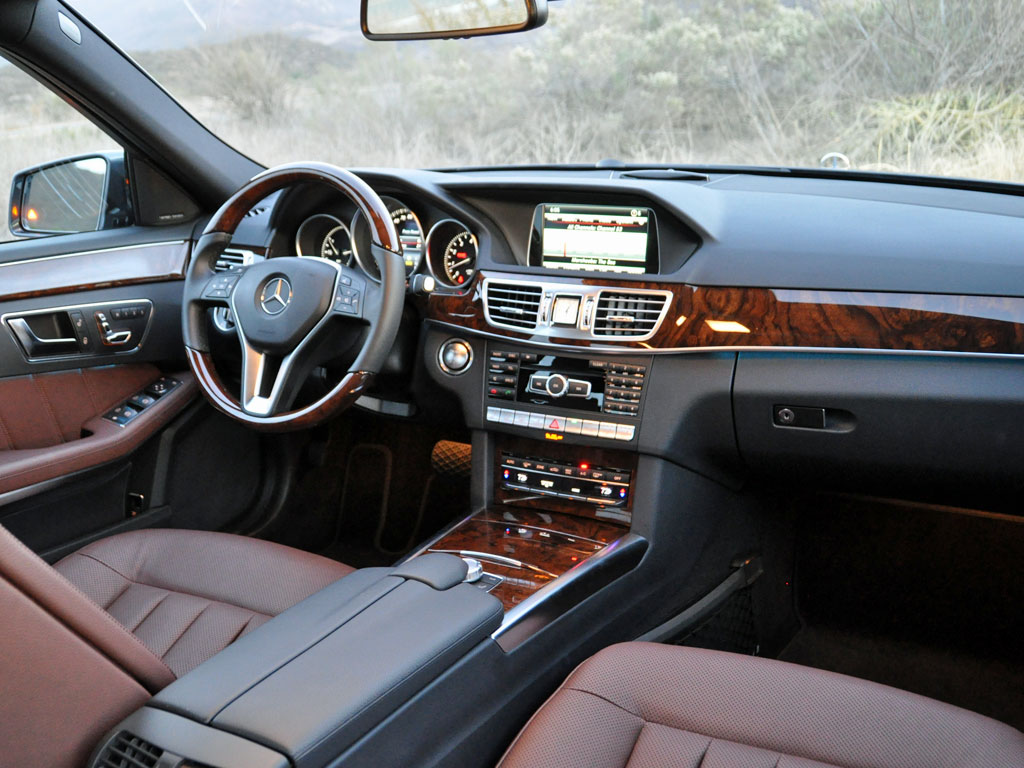 2014 Mercedes-Benz E-Class E350 Luxury 4MATIC, 2014 Mercedes-Benz E350, interior, form_and_function