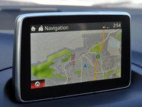2014 Mazda MAZDA3 i Touring, 2014 Mazda 3i Touring navigation map display, interior