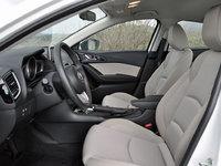 2014 Mazda MAZDA3 i Touring, 2014 Mazda 3i Touring front seat, interior