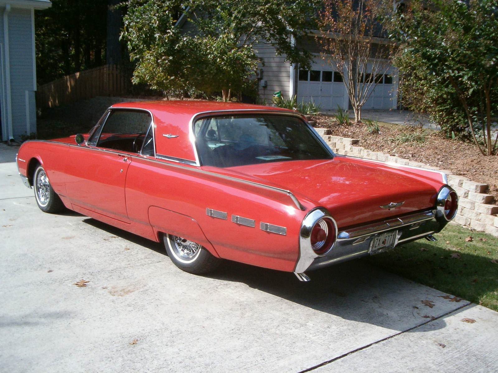 picture of 1962 ford thunderbird exterior. Cars Review. Best American Auto & Cars Review
