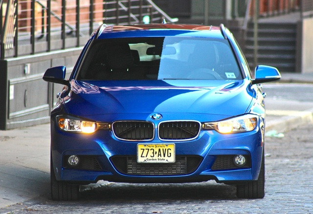 2014 BMW 3 Series, From the front, exterior, gallery_worthy