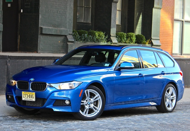 2014 BMW 3 Series, Front-quarter view, exterior, gallery_worthy