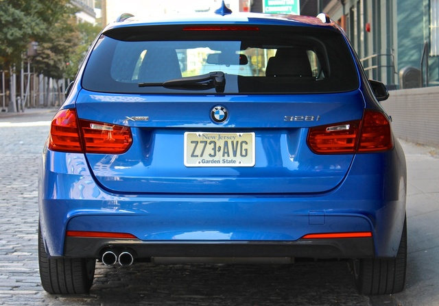 2014 BMW 3 Series, From the rear, exterior, gallery_worthy