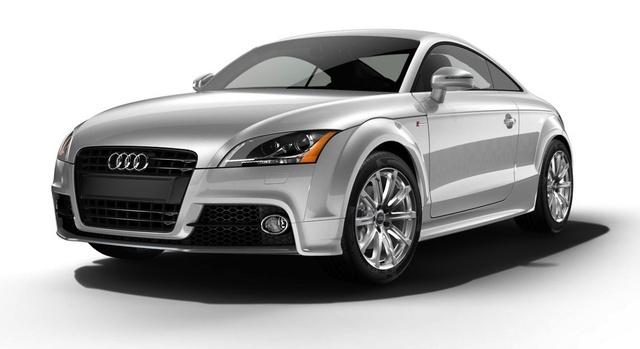 2014 Audi TT, Front-quarter view, exterior, manufacturer