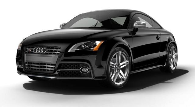 2014 Audi TTS, Front-quarter view, exterior, manufacturer
