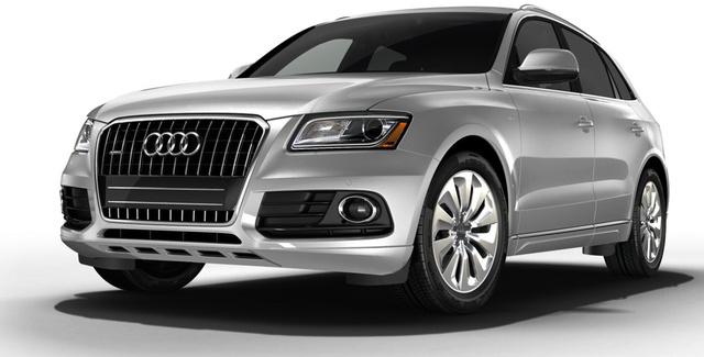 2014 Audi Q5 Hybrid, Front-quarter view, exterior, manufacturer