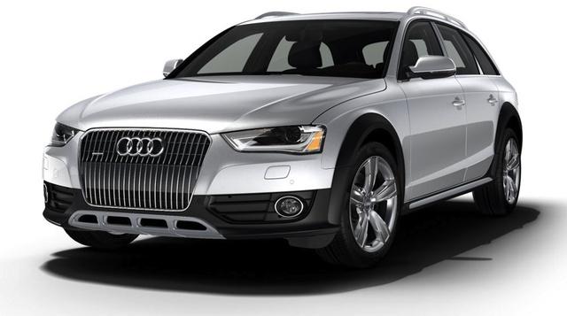 2014 Audi Allroad, Front-quarter view, exterior, manufacturer