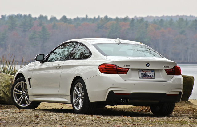 2014 BMW 4 Series, 2014 BMW 428i rear 3/4 shot, exterior, gallery_worthy