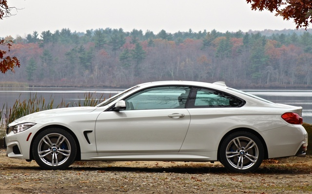 2014 BMW 4 Series, 2014 BMW 428i side shot, exterior