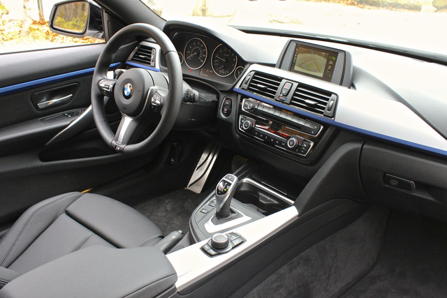 2014 BMW 4 Series, 2014 BMW 428i interior, interior