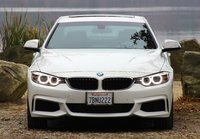 2014 BMW 4 Series, 2014 BMW 428i head-on shot, exterior, look_and_feel
