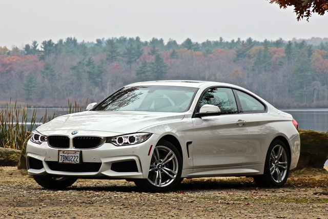2014 BMW 4 Series, 2014 BMW 428i front 3/4, exterior, gallery_worthy