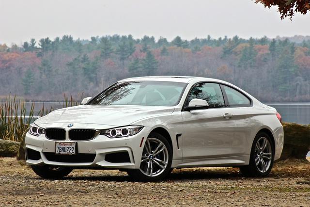 2014 BMW 4 Series, 2014 BMW 428i front 3/4, exterior