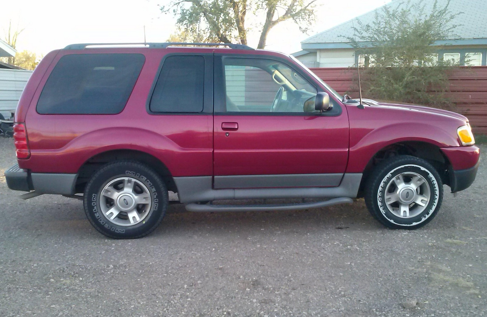 picture of 2003 ford explorer sport 2 dr xlt suv exterior. Cars Review. Best American Auto & Cars Review
