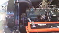Picture of 1951 Pontiac Chieftain, engine