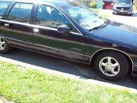 1992 Chevrolet Caprice Classic, Side profile, exterior